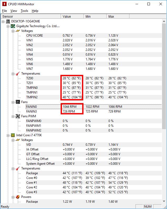 HWMONITOR - Budget PC Upgrade Repair